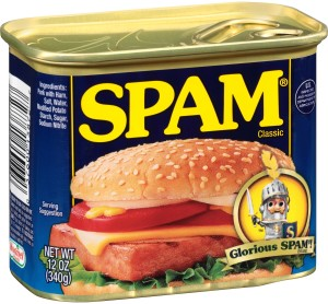Spam - Blacklisted