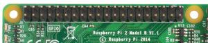 Raspberry Pi 2 GPIO pins