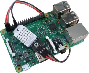 Raspberry Pi 3 and DHT22/AM2302